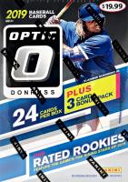 2019 Panini Donruss Optic Baseball Blaster Box with (6) Packs at PristineAuction.com