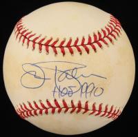 "Jim Palmer Signed ONL Baseball Inscribed ""HOF 1990"" (Beckett COA) at PristineAuction.com"