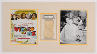 "Billie Burke Signed ""The Wizard of Oz"" 14x26 Custom Matted Cut Display With Inscription (PSA Encapsulated) at PristineAuction.com"