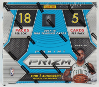 2017/18 Panini Prizm Basketball Fast Break Box with (18) Packs at PristineAuction.com