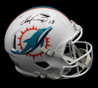 Dan Marino Signed Dolphins Full-Size Authentic On-Field Speed Helmet (Fanatics Hologram) at PristineAuction.com