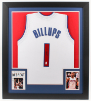 Chauncey Billups Signed 31x35 Custom Framed Jersey (JSA COA) at PristineAuction.com