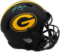 Brett Favre Signed Packers Full-Size Eclipse Alternate Speed Helmet (Radtke COA) at PristineAuction.com