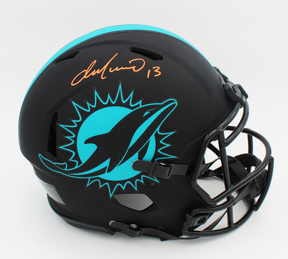 Dan Marino Signed Dolphins Full-Size Authentic On-Field Eclipse Alternate Speed Helmet (Fanatics Hologram) at PristineAuction.com