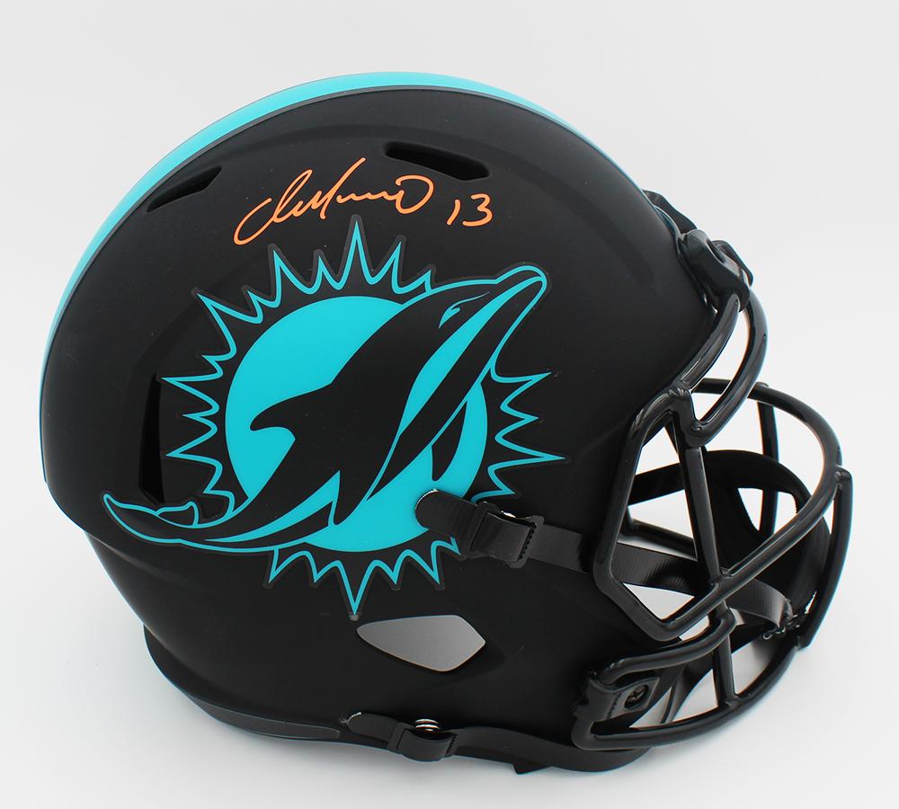 Dan Marino Signed Dolphins Full-Size Eclipse Alternate Speed Helmet (Fanatics Hologram) at PristineAuction.com