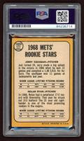 "Nolan Ryan Signed 1968 Topps #177 Rookie Stars / Jerry Koosman RC / Nolan Ryan RC Inscribed ""HOF 1999"" (PSA 10) at PristineAuction.com"