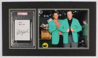 """Phil Mickelson Signed Masters 15x26 Custom Matted Cut Display Inscribed """"Best Wishes"""" (PSA Encapsulated) at PristineAuction.com"""