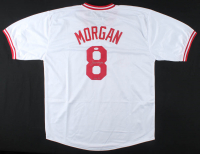 "Joe Morgan Signed Jersey Inscribed ""HOF '90"" (JSA COA) at PristineAuction.com"