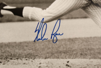 Nolan Ryan Signed Mets 20x24 Custom Matted Cut Display (Beckett COA) at PristineAuction.com