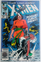 "Stan Lee Signed 1984 ""The Uncanny X-Men"" Issue #185 Marvel Comic Book (Lee COA) at PristineAuction.com"