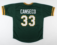 "Jose Canseco Signed Jersey Inscribed ""Juiced"" (JSA COA) at PristineAuction.com"