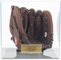 Nolan Ryan Signed Rawlings Baseball Glove with Multiple Inscriptions & Display Case (PSA COA) at PristineAuction.com