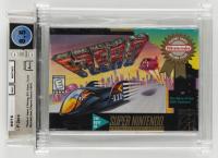 "1991 ""F-Zero"" Nintendo SNES Video Game (WATA 8.5) at PristineAuction.com"