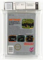 "1987 ""Metroid"" Nintendo SNES Video Game (WATA 7.0) at PristineAuction.com"