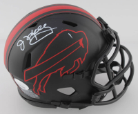 Jim Kelly Signed Bills Eclipse Alternate Speed Mini-Helmet (JSA COA) at PristineAuction.com
