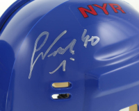 Lot of (3) Signed Rangers Mini Helmets with Jimmy Vesey, Kevin Hayes, & Michael Grabner (Your Sports Memorabilia Store COA) at PristineAuction.com
