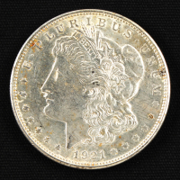 1921 Morgan Dollar at PristineAuction.com