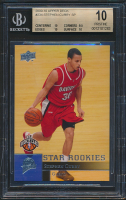 Stephen Curry 2009-10 Upper Deck First Edition #196 RC (BGS 10) at PristineAuction.com