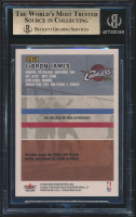 LeBron James 2003-04 Fleer Tradition #261 RC (BGS 10) at PristineAuction.com