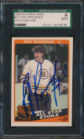 Ray Bourque Signed 1984-85 O-Pee-Chee #211 All Star (SGC Encapsulated) at PristineAuction.com