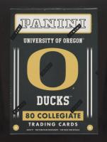 2015 Panini Collegiate Series Oregon Ducks Blaster Box with (10) Packs at PristineAuction.com