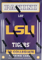 2015 Panini Collegiate Series LSU Tigers Blaster Box with (10) Packs at PristineAuction.com