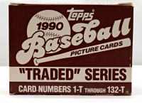 1990 Topps Traded Baseball Complete Set of (132) Cards at PristineAuction.com