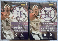 Lot of (2) 2019-20 Panini Illusions Basketball Blaster Box of (6) Packs at PristineAuction.com