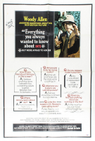 "Woody Allen Signed ""Everything You Always Wanted To Know About Sex"" 16x32 Movie Poster (PSA COA) at PristineAuction.com"
