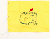 Jack Nicklaus Signed Masters Pin Flag (Beckett LOA) at PristineAuction.com
