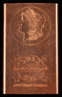 2012 Half Pound .999 Fine Copper Bullion Bar at PristineAuction.com