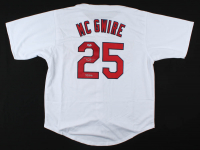 """Mark McGwire Signed Jersey Inscribed """"538 HRs"""" (Beckett COA) at PristineAuction.com"""