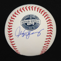 Alex Rodriguez Signed OML Yankee Stadium Inaugural Season Logo Baseball (Beckett COA) at PristineAuction.com