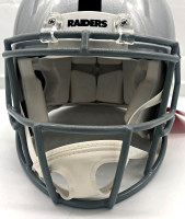 Bo Jackson Signed Raiders Speed Mini Helmet (Beckett COA) at PristineAuction.com
