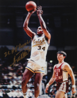 """Austin Carr Signed Notre Dame Fighting Irish 11x14 Photo Inscribed """"2X All-American"""" (Playball Ink Hologram) at PristineAuction.com"""