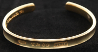 Tiffany & Co. 18kt Yellow Gold Cuff Bracelet at PristineAuction.com