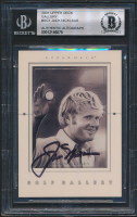 Jack Nicklaus 2001 Upper Deck Gallery #GG1 (BGS Encapsulated) at PristineAuction.com