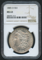 1885-O Morgan Silver Dollar (NGC MS63) at PristineAuction.com