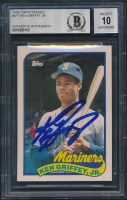Ken Griffey Jr. Signed 1989 Topps Traded #41T RC (BGS Encapsulated) at PristineAuction.com