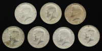 Lot of (7) 1967-69 Kennedy Half-Dollars with (1) 1968-D & (1) 1969-D at PristineAuction.com