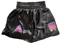 Mike Tyson Signed Boxing Shorts (JSA COA & Fiterman Sports Hologram) at PristineAuction.com