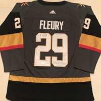 Marc-Andre Fleury Signed Golden Knights Jersey (JSA COA) at PristineAuction.com
