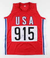 Carl Lewis Signed Jersey (JSA Hologram) at PristineAuction.com