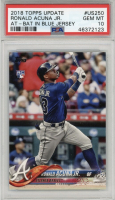 Ronald Acuna Jr. 2018 Topps Update #US250 RC (PSA 10) at PristineAuction.com