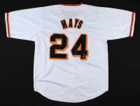 "Willie Mays Signed Jersey Inscribed ""660 HR"" (Tennzone COA & Willie Mays Hologram) at PristineAuction.com"