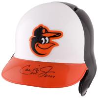 "Cal Ripken Jr. Signed Orioles Batting Helmet Inscribed ""HOF 2007"" (Fanatics Hologram) at PristineAuction.com"