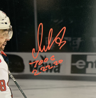"""Alexander Ovechkin Signed Capitals 16x20 LE Photo Inscribed """"700 G 2/22/20"""" (Fanatics Hologram) at PristineAuction.com"""