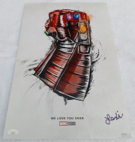 "Lexi Rabe Signed ""Avengers: Endgame"" 11x17 Movie Poster (JSA COA) at PristineAuction.com"