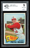 Pete Rose 1965 Topps #207 (BCCG 9) at PristineAuction.com