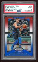 Luka Doncic 2019-20 Panini Prizm Prizms Red White and Blue #75 (PSA 9) at PristineAuction.com